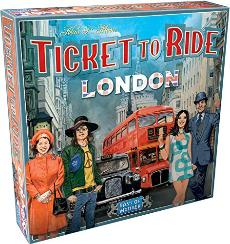 Days of Wonder Jogo Tabuleiro Ticket to Ride: London