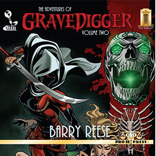 The Adventures of Gravedigger, Book 2 audiobook cover art