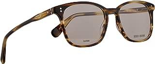 Bobbi Brown The Cali Eyeglasses 50-17-140 Striated Brown w/Demo Clear Lens EX4