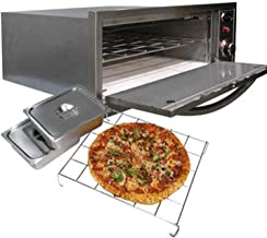Cal Flame 089245002642 3 Piece 110Volt Oven 2 in 1, Stainless Steel