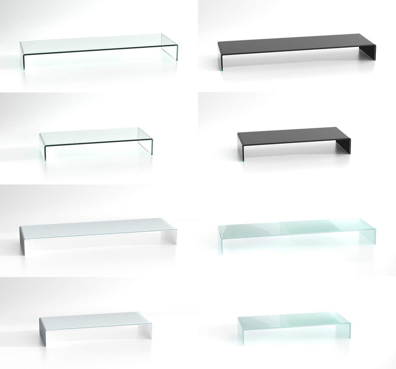 Duratable Glasaufsatz Satiniert 650 Mm X 250 Mm X 110 Mm Glastisch Lcd Tv Aufsatz Fernsehtisch Tv Tisch Wohnzimmertisch Küche Haushalt