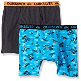Quiksilver Little Boys' Boxer Brief, Surf Print, X-Small/4/5 (Pack of 2)