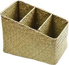 [Style 2] Wicker Straw Basket Storage Box Household Basket Box Gift