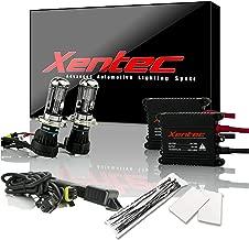 Xentec H4 (HB2) 6000K Hi/lo Telescopic bixenon HID xenon bulb x 1 pair bundle with 2 x 35W Digital Slim Ballast (Ultra White)