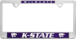 AMG Auto Emblems All Metal NCAA Mascot License Plate Frame (Kansas State)