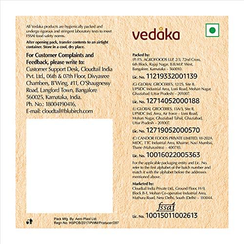 Vedaka Popular Whole Almonds, 500g 4