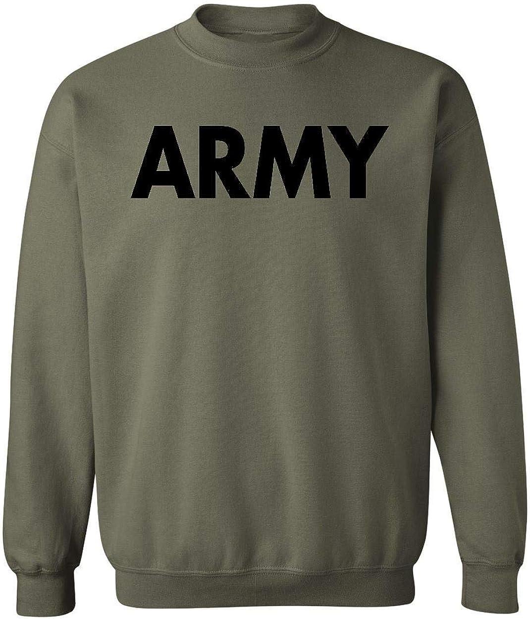 US Military Gear Army Training PT Crewneck Sweatshirt