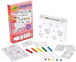 Crayola DIY Valentine Box with 24 Valentines, Craft for Kids, for Kids