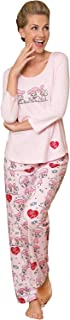 Ladies Pajamas Sets Cotton - Lucy Women's Pajamas, Pink