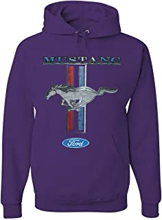 Tee Hunt Ford Mustang Classic Hoodie GT Cobra Boss 302 Mach 1 Sweatshirt