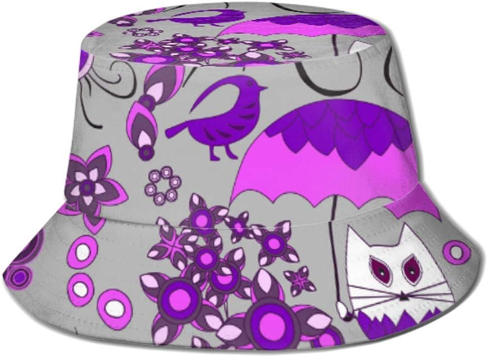 Sun Popular brand Cap Flowercat Snail Umbrella Hat Bucket for Men Women Mail order