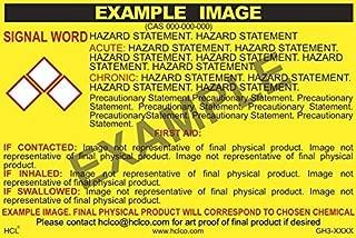 Ethyl Alcohol (Denatured) GHS Label - 3