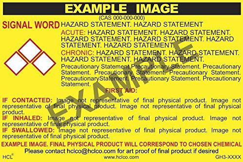 Deionized Water GHS Label Max 40% OFF - 3