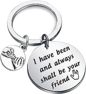 Lywjyb Birdgot Star Trek Inspired Friendhsip Keychain I Have Been and Always Shall Be Your Friend Star Trek Fans Gift
