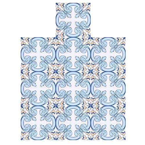 Haofy 10pcs (10x10cm) Art Eclectic Peel and Stick Wall Sticky Backsplash Vinilos Adhesivos para Azulejos Removibles Impermeables para baño y Cocina Pegatinas para Azulejos Decoración