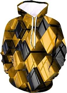 〓COOlCCI〓Men's Patterns Print 3D Sweaters Fashion Hoodies Sweatshirts Pullover Novelty Hoodies Fashion Hoodies Pullover