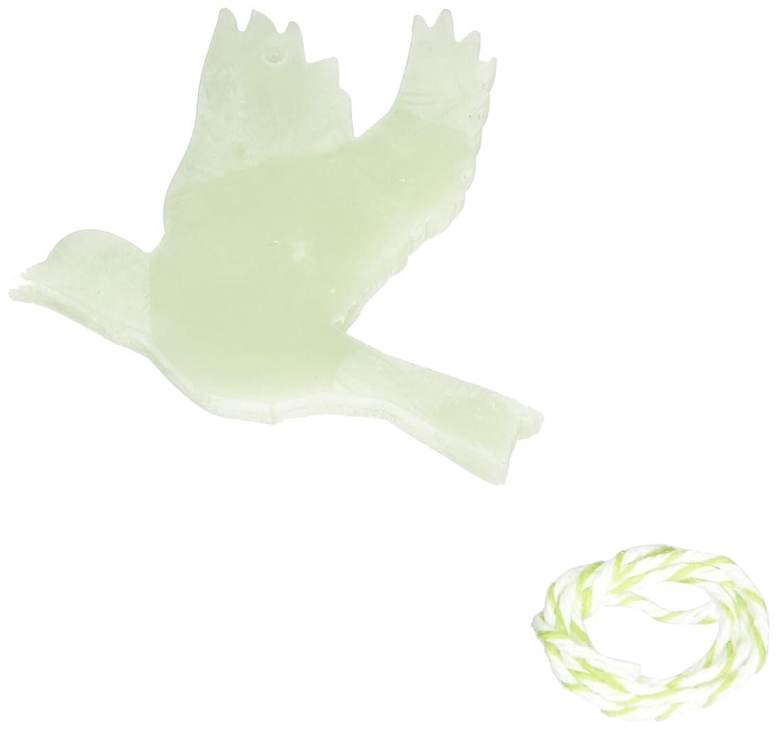 マルコポーロタンクしがみつくGRASSE TOKYO AROMATICWAXチャーム「ハト」(GR) レモングラス アロマティックワックス グラーストウキョウ