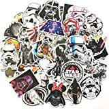 STORM GYRD 100 Pcs Star Wars Sticker Pack,Unique Cool Stickers Notebook Guitar Skateboard Travel Stickers Waterproof