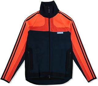 35d1d065b158 adidas Men Knitted Tracksuit (Orange Bold Orange Legend Ink)