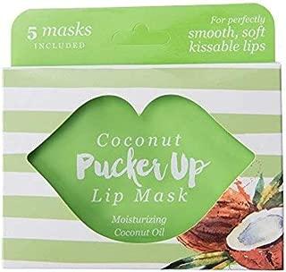 Pucker Up, Lip Mask, Skin Care, Balms & Moisturizers - Set of 5, Coconut