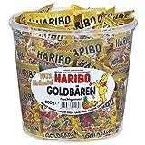 Haribo - Mini Ositos Oro, Estuche de 100 Bolsitas, 1000 gr.