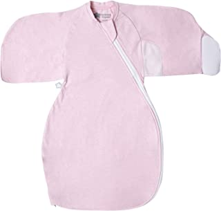 Tommee Tippee Grobag Newborn Sleep Swaddle Wrap, Pink Marl, 0-3 months