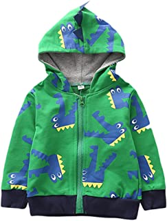 PENATE Baby Infant Kid Hoodie Outerwear Boys Girls Cute Cotton Coat with Pocket