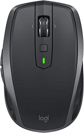 Logitech 910-005132 Mouse MX Anywhere 2S, 4000 dpi, Bluetooth, Color Negro