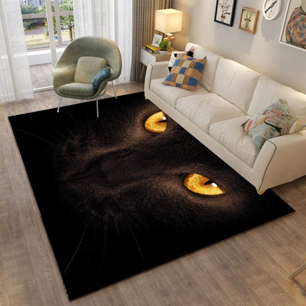 LHGBGBLN Animal Golden Eyes 3D Corridor Abstrac Carpet 2021 model Floor Mat OFFicial shop