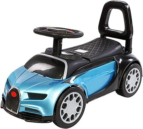 Kinder Yo Car Twist Auto 2-3 Jahre alt Baby Slide Balance vierr iges Yo Car Kinder Slide Walker FANJIANI (Farbe   Paint Blau, Größe   A)