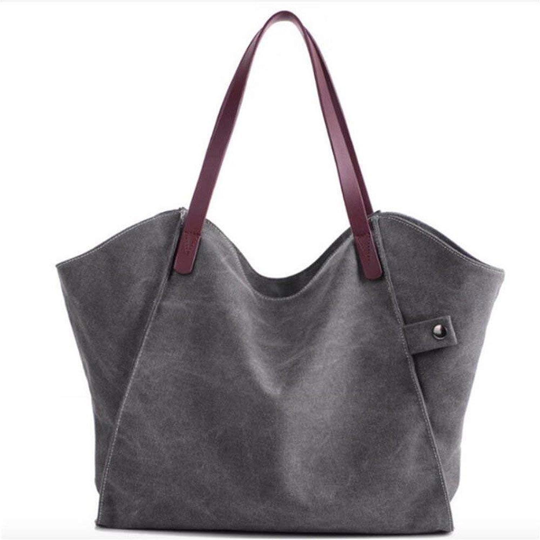 Willsego Casual Totes für Frauen Padded Canvas Bag Große Kapazität Damen Handtasche (Farbe   -, Größe   -) B07L9F8FFD  Ausgezeichnete Funktion