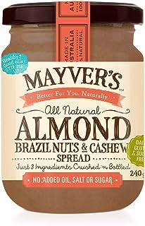 Mayver's Almond, Brazil Nuts & Cashew Spread 240 g