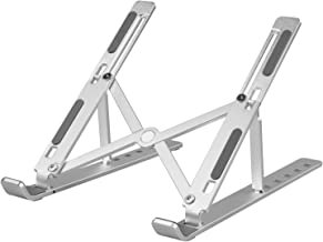 Soporte para portátil ajustable, soporte para portátil, soporte ergonómico para computadora portátil, soporte para MacBook...