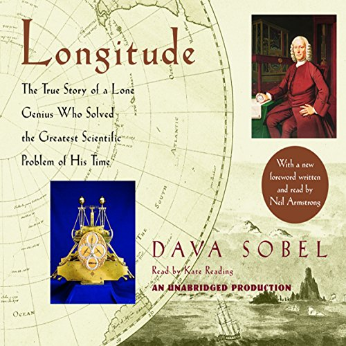 Longitude audiobook cover art