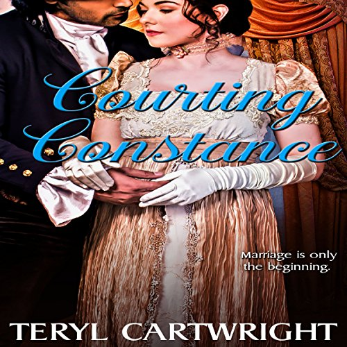 Courting Constance audiobook cover art
