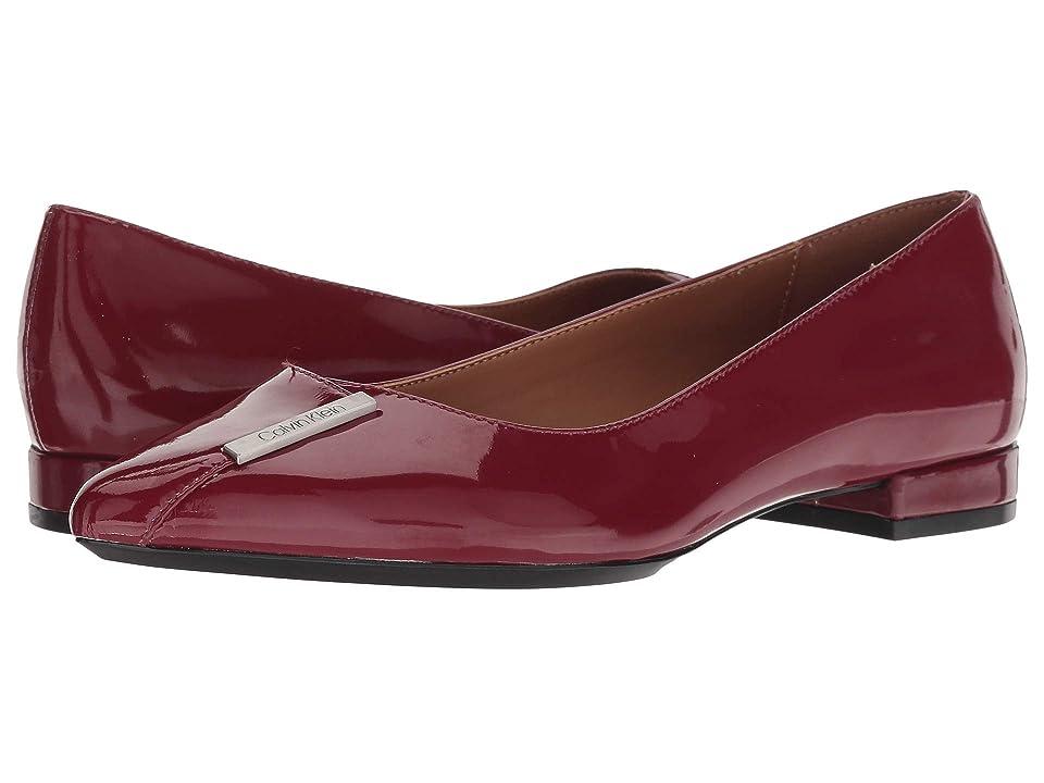 Calvin Klein Arline (Red Rock Patent) Women