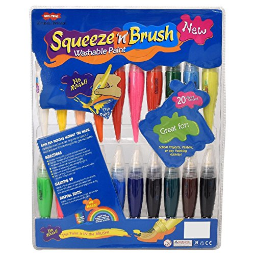 Galt Toys Squeeze n Brush 12 Classic Colours
