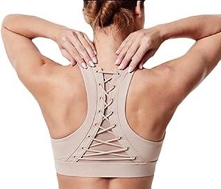 Howme-Women No-Bounce Stretch Gym Jogger High Impact Activewear Bra