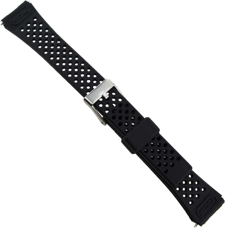 14mm Flex-On Black Rubber Fits Timex Band 1 Wholesale Triathlon ...