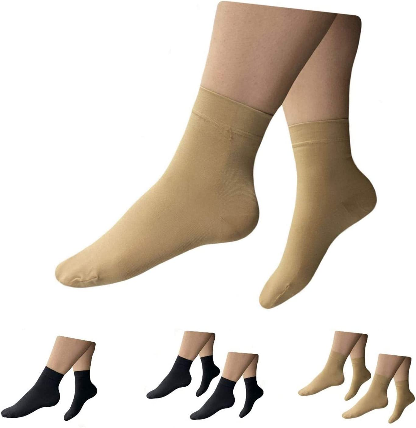 HealthyNees Popularity Free shipping anywhere in the nation Closed Toe 15-20 mmHg W Compression Circulation Foot