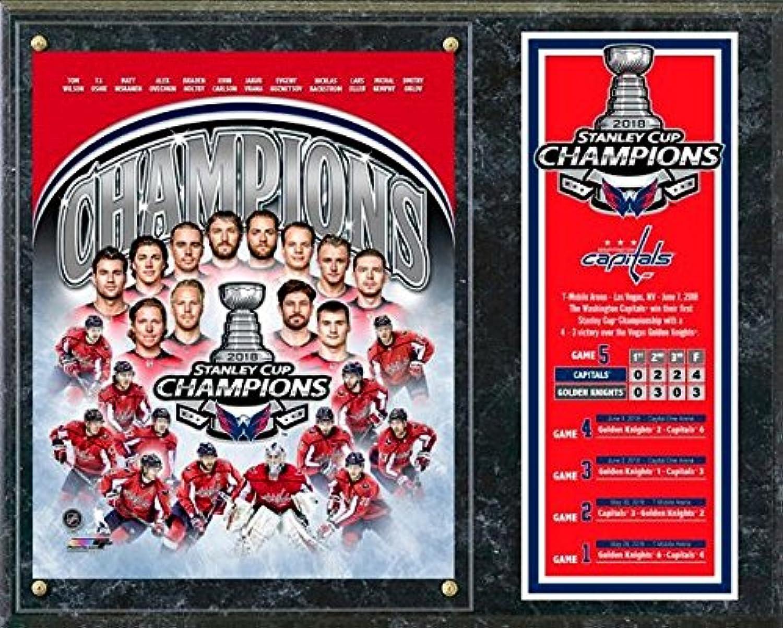 Washington Capitals 2018 Stanley Cup Champions Wood Plaque (Size  30cm x 38cm )