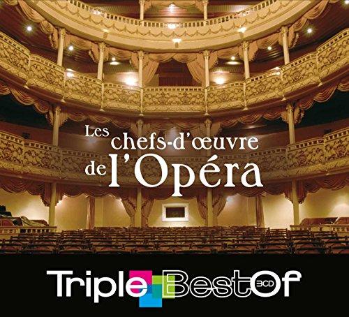 Le CD triple Best-of des chefs-d'œuvre de l'opéra
