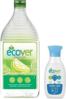 エコベール 食器用洗剤 レモン 950mL 洗濯用洗剤ミニボトル付き