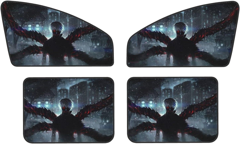 Tokyo New mail order Ghoul Car overseas Sunshade Side 4pcs Window Sun Universa Shade