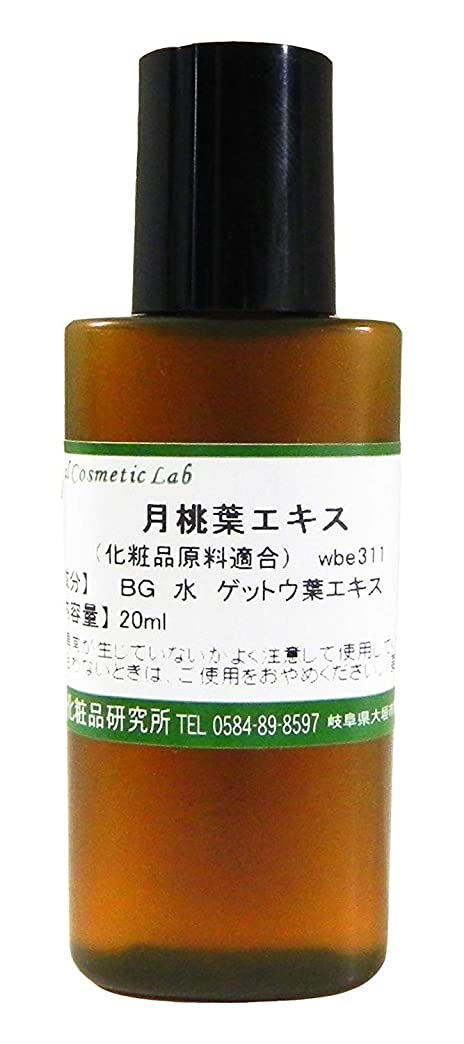 サバントジャンク月桃葉エキス 20ml 【手作り化粧品原料】