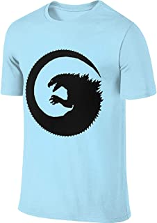 Deep Heather Amazing Godzilla King of All Monsters Men's Short Sleeve T-Shirt