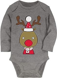 Tstars - Cute Reindeer Outfit for Christmas Baby Long Sleeve Bodysuit