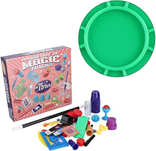 Magic Prop Set, Gift ABS Educational Game Safe Magic Prop, Magic Toy Family for Kids(default)