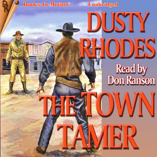 The Town Tamer audiobook cover art