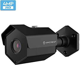 Amcrest UltraHD 4MP Outdoor POE Camera 2688x1520p Bullet IP Security Camera, Outdoor IP67 Weatherproof, 2.8mm Lens, 118° Viewing Angle, 98ft Night Vision, 4-Megapixel, IP4M-1026EB-28MM (Black)